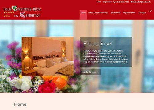 Haus Chiemsee-Blick & Zellnerhof