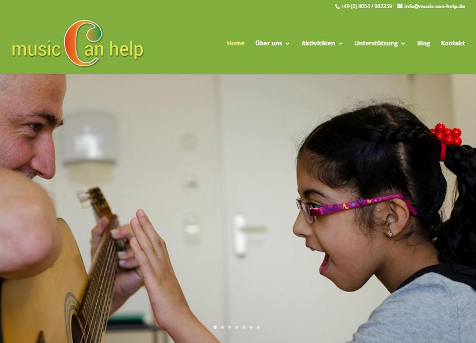 Webdesign für International Music Association e.V.
