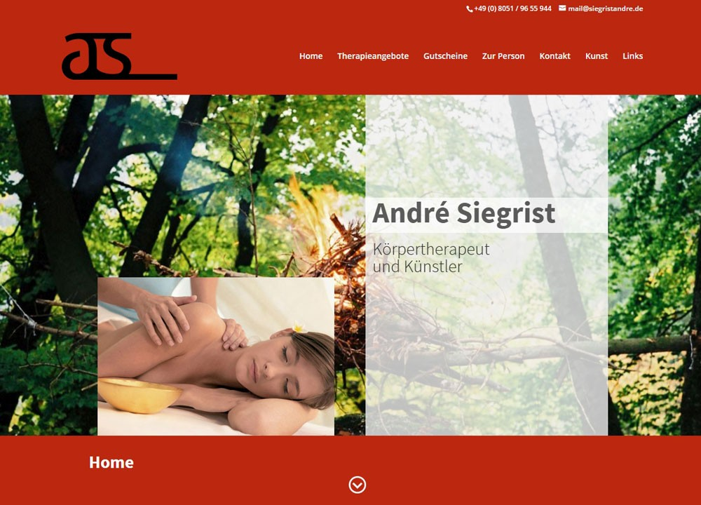 André Siegrist | Therapeut & Künstler