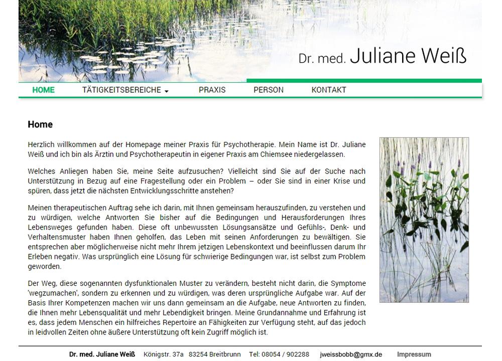 Dr. med. Juliane Weiß